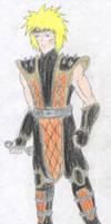 Naruto Uzumaki - Mortal Kombat by FoxBluereaver