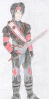 Itachi Uchiha - Mortal Kombat by FoxBluereaver