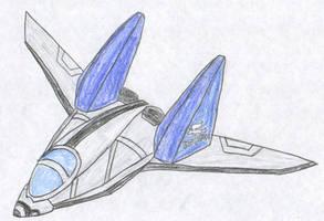 Heavy Assault Arwing by FoxBluereaver