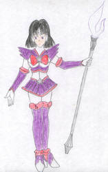Sailor Saturn ZX by FoxBluereaver