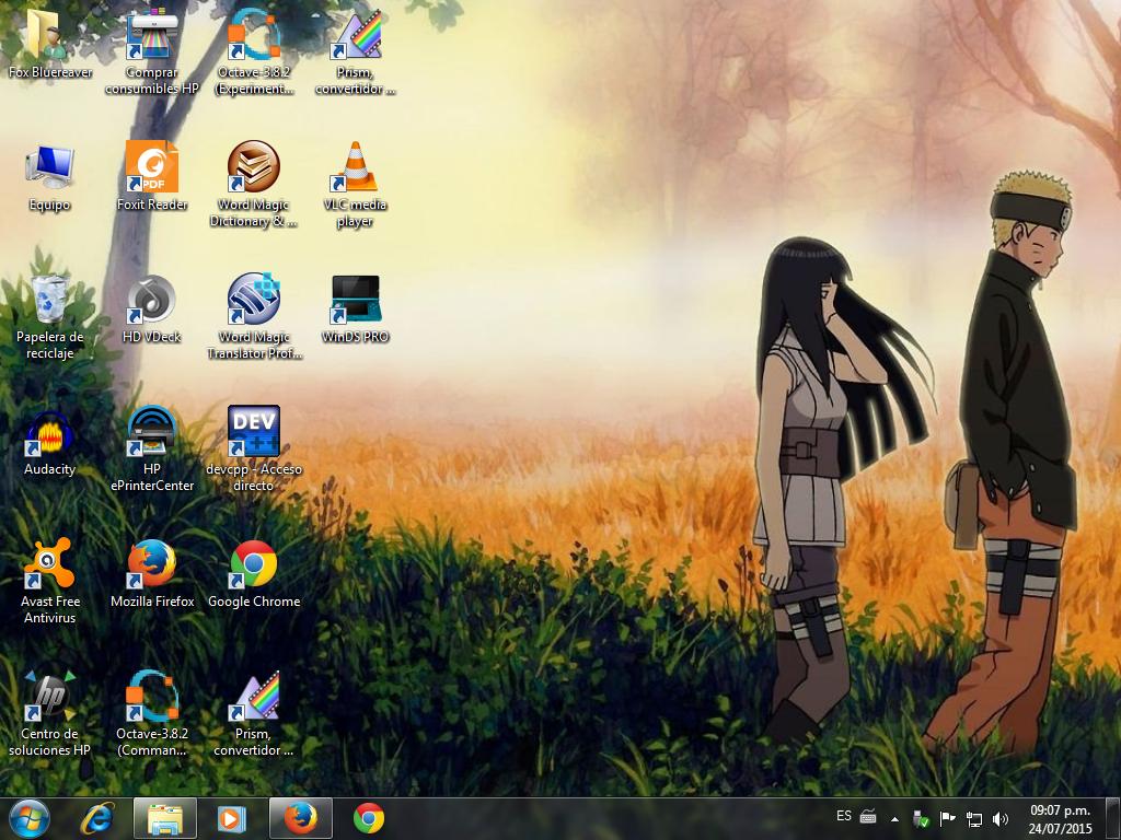 THE LAST - Naruto The Movie Desktop by FoxBluereaver