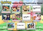 Pokemon Anime Pairing Controversy Meme