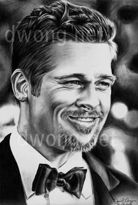 Brad Pitt by daniel-w