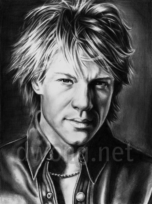 Jon Bon Jovi by ...M Shadows 2017 Hair