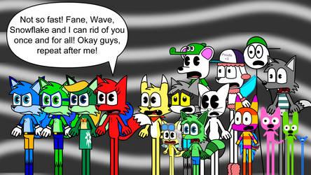 Unity against Banshee Lantern Panel 1
