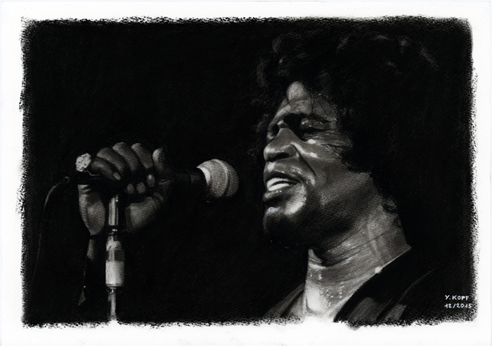 James Brown (The Godfather of Soul) by YannKopf