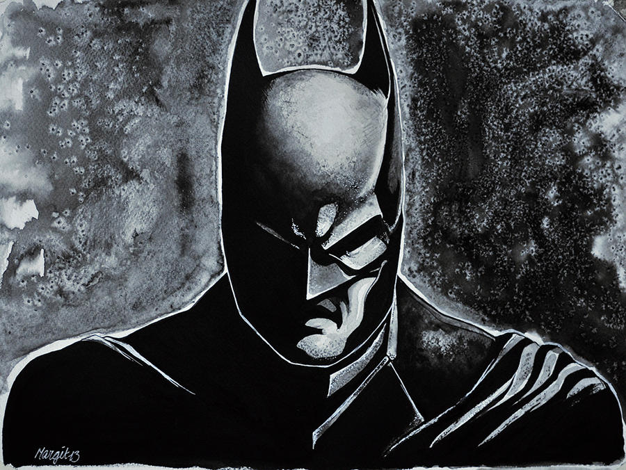 The Dark Knight by Lykketrollet84