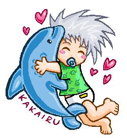 Baby_Kakashi_and_his_Iruka_by_kittychasesquirrels