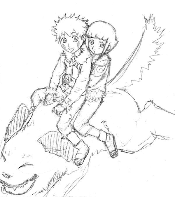 Kiba and Hinata