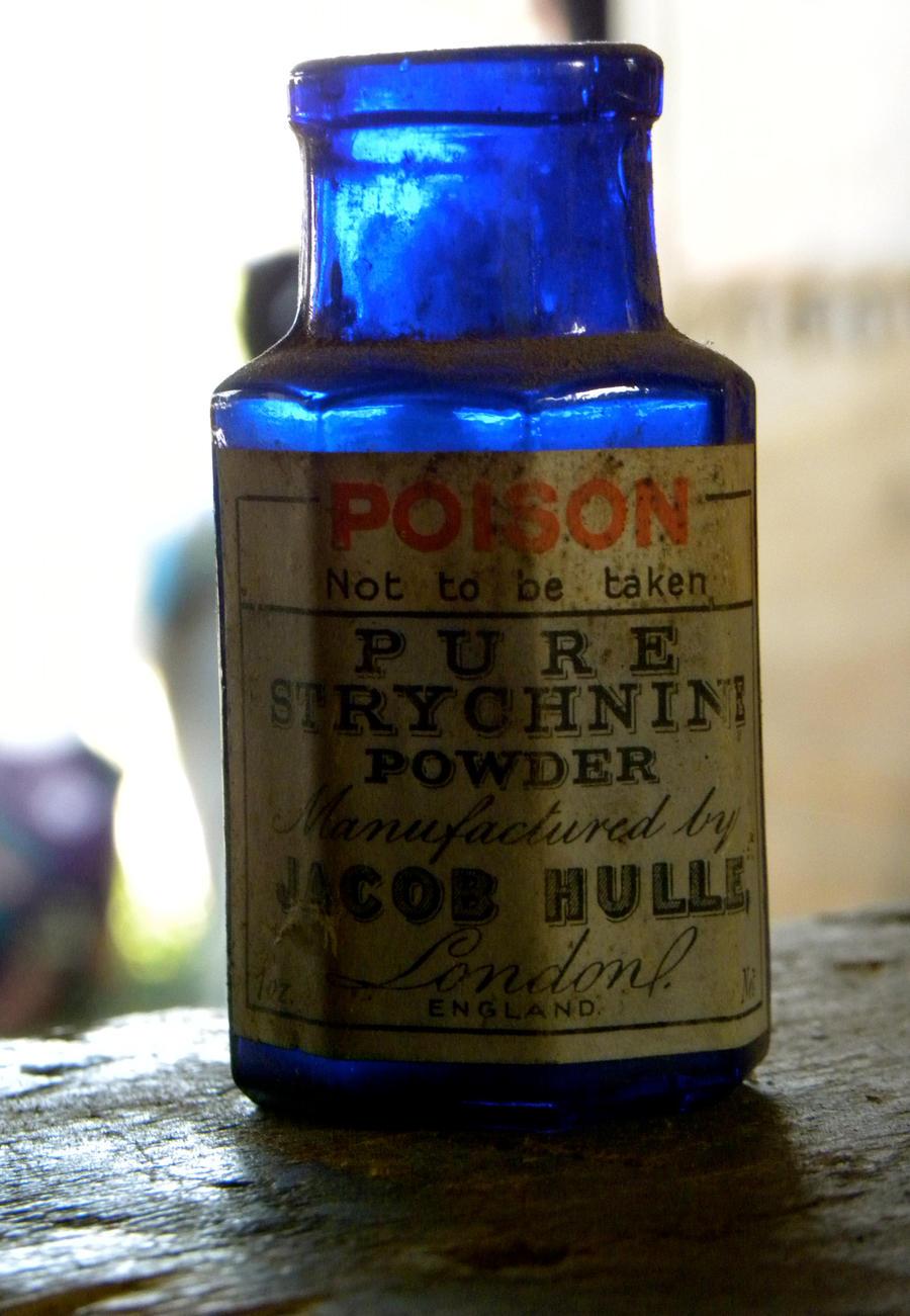 Little Blue Bottle of Poison