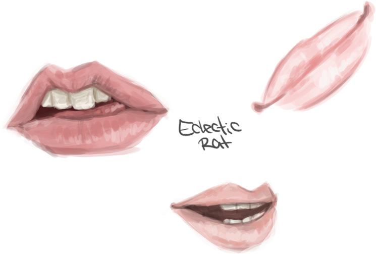 Lip Study by EclecticRat