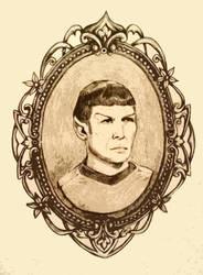 Spock Cameo by Zoryaa