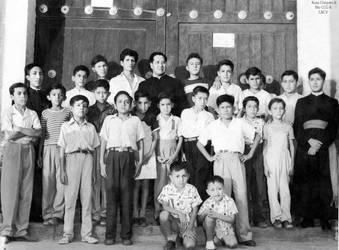 1952 (2b) 1952-60 Padre Wenceslao Lazaro Padre Jav