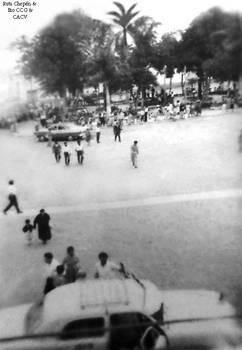 1950 (30a) 1950-60 Plaza de Armas de Chepen y su c
