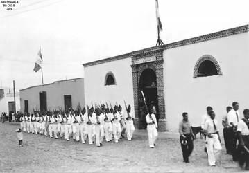 1950 (17a) 1950-55 Puesto de la Guardia Civil y lo by Chepen-Ruta