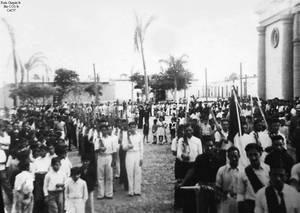 1950 (14) 1950-55 Jovenes Chepenanos sirviendo com