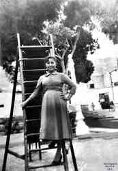 1950 (7c) Parque Infantil juegos infantiles by Chepen-Ruta