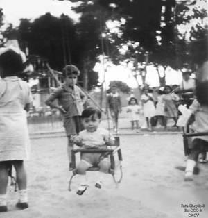 1950 (7b) 1950-55 Ninos de la epoca de nuestro Ch
