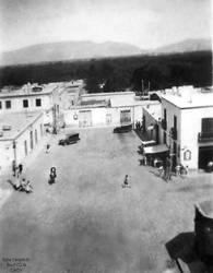 1935 (2c) 1935-45 Plaza de Armas al costado se obs