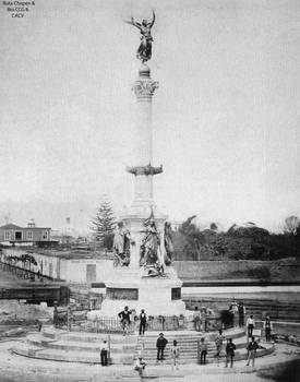 1876 Se construye el Monumento en homenaje al 2 de