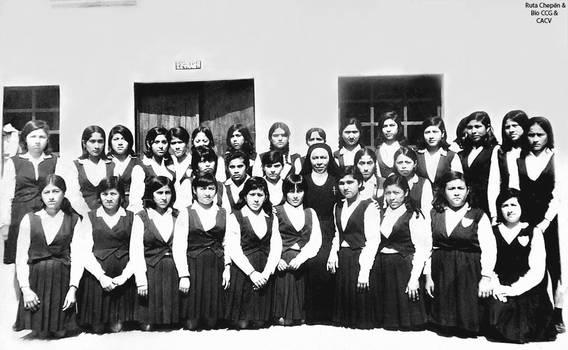 1968 (6b) Alumnas del segundo ao seccion C con l by Chepen-Ruta