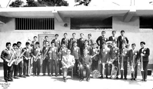 1968 (6b) Banda de Musica de la GUE Carlos Gutierr by Chepen-Ruta