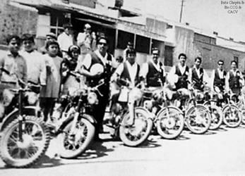1968 (8) Un Grupo de motociclistas Chepenanos de l by Chepen-Ruta