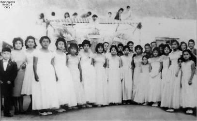 1951 (9a) 1951-55 Reynado de las alumnas del Coleg