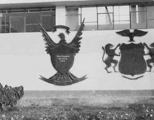 1971 (4f) 1987 Colegio Militar Elias Aguirre Patio