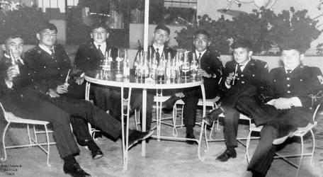 1971 (4a) 1970 Reunion de Cadetes del 1 Ao en