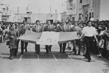 1976 (2) 1976-78 Desfile de Fiestas Patrias copia  by Chepen-Ruta