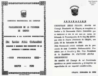1984 (5) Proclamacion de Provincia de Chepen copia by Chepen-Ruta