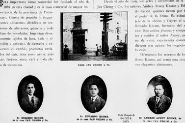 1881 Casa Comercial Jau Chong y Co la mas importan