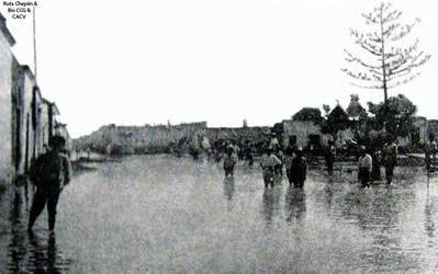 1925 (3) Lluvias torrenciales en la Villa de Eten