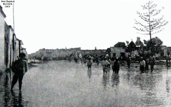 1925 (3) Lluvias torrenciales en la Villa de Eten  by Chepen-Ruta
