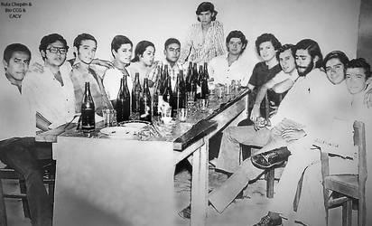 1971 (4d) 1974 Reunion de Ex Cadetes Chepenanos