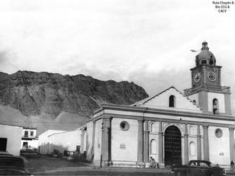 1950 (1a) 1950-60 Iglesia San Sebastian de Chepen by Chepen-Ruta