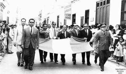 1963 (2b5) 1963 Autoridades  desfilando by Chepen-Ruta