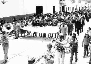 1966 (2a) 1966-7 Desfile por Fiestas Patrias by Chepen-Ruta