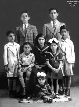 1928 Tradicional familia Chepenana Novoa Zaartu by Chepen-Ruta