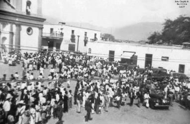 1950 (16) 1950-55 Primera Carrera de autos en Chep