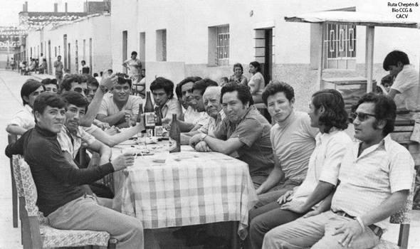 1976 (4) Celebrando la Inauguracion de Pavimentaci by Chepen-Ruta