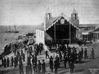 1863 (0c) 1864-04-14 Pinzon ocupacin de las isla by Chepen-Ruta