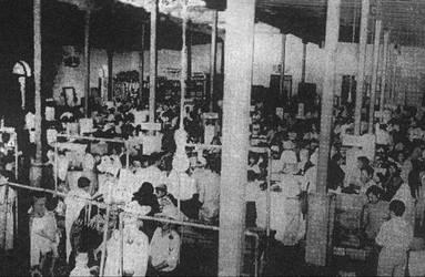 1956 (1) 1950 Mercado Central con mesas de madera by Chepen-Ruta
