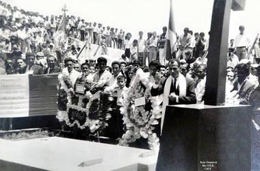 1941 (6b) 1969 Traslado de restos mortales del Her