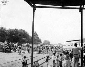 1950 (4) 1959 Antigua estacion del Tren Av E Gonza
