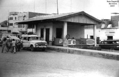 1950 (6) 1966 Estacion del Ferrocarril Chepen 38 T
