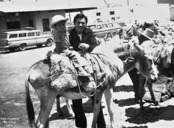 1950 (7) 1965-75 La Av Gonsalez Caceda al fondo la by Chepen-Ruta