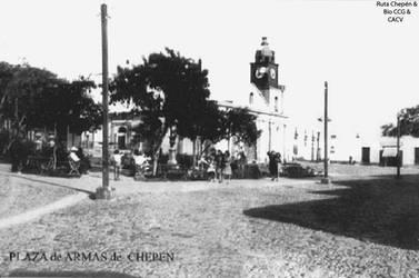 1950 (0) Plaza de Armas al fondo no se visualiza a by Chepen-Ruta