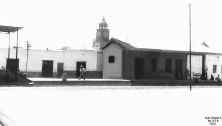 1950 (2) 1960-65   Estacion del Ferrocarril Chepen